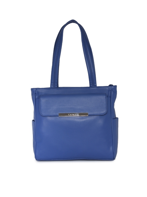 Caprese Blue Shoulder Bag