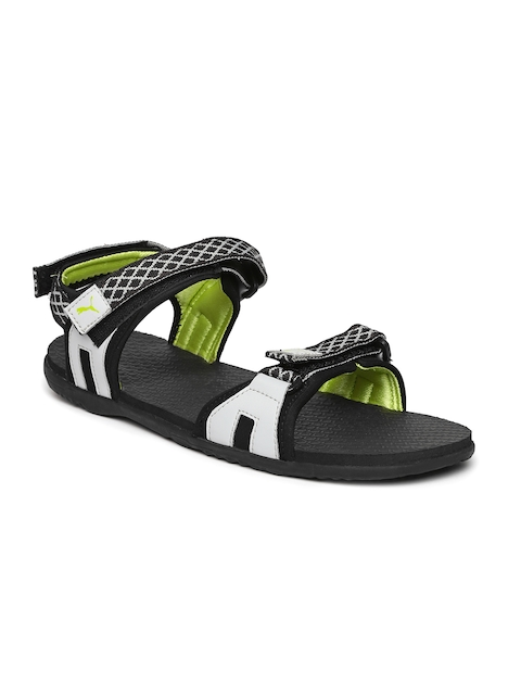 Puma Unisex Grey & Black Lyra IDP Sports Sandals