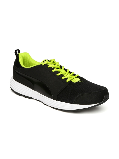 Puma Men Black Octans IDP Running Shoes