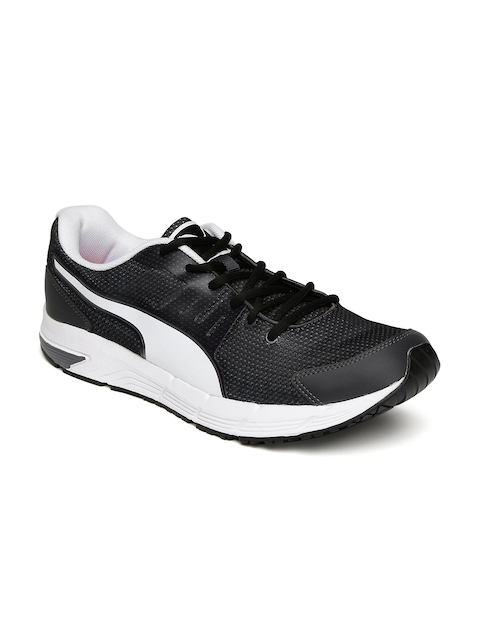 Puma Men Black Ultron IDP Running Shoes