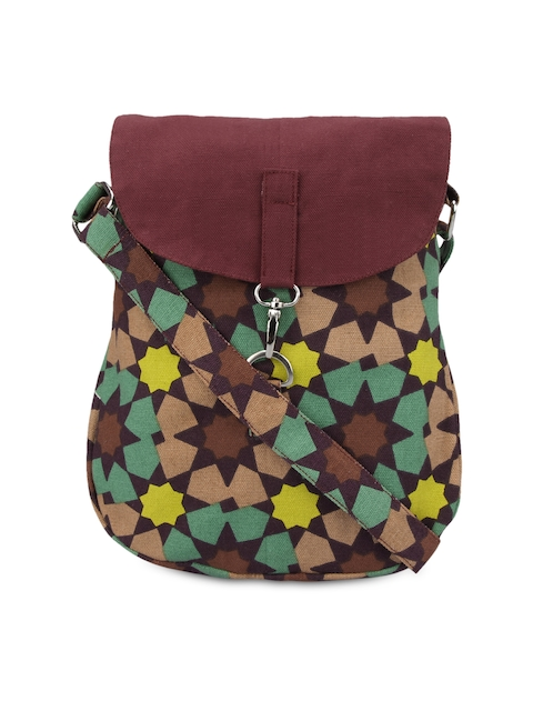 Vivinkaa Multicoloured Printed Sling Bag