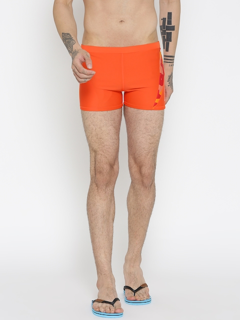 Reebok Orange PNL Trunk 1 Swim Shorts BC4464