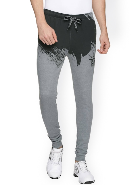 Proline Men Grey Printed Joggers  available at myntra for Rs.649