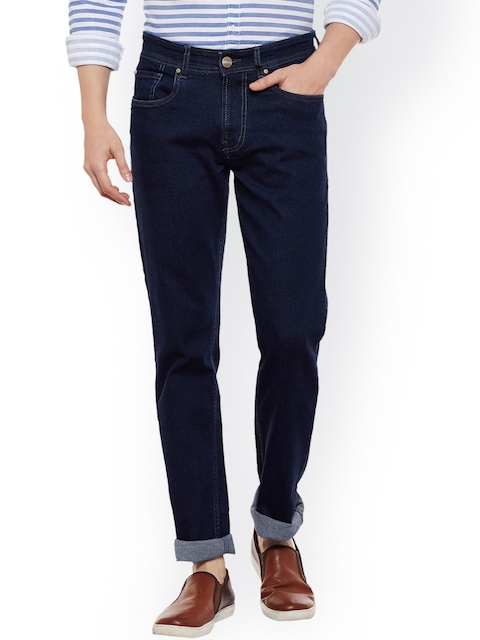 Numero Uno Men Navy Slim Fit Low-Rise Stretchable Jeans  available at myntra for Rs.949
