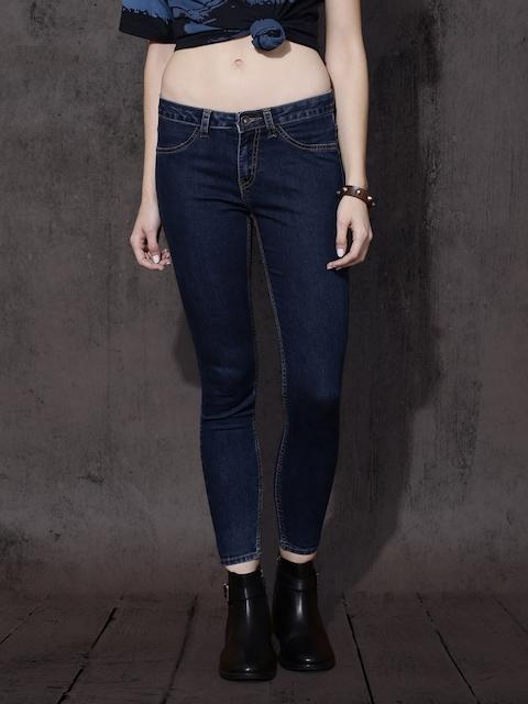 Roadster Women Blue Super Skinny Fit Jeggings