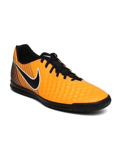 Nike Men Orange & Black Magistax Ola II IC Football Shoes