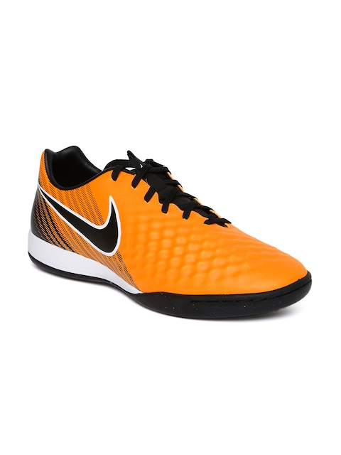 Nike Men Orange Magistax Onda II IC Football Shoes