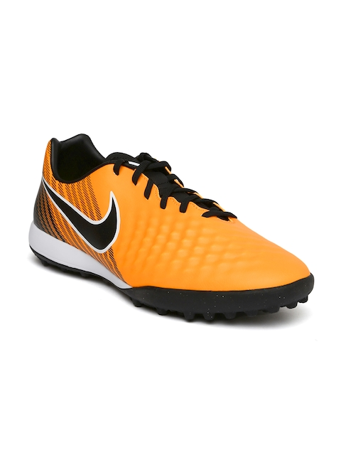 Nike Men Orange MAGISTAX ONDA II TF Football Shoes