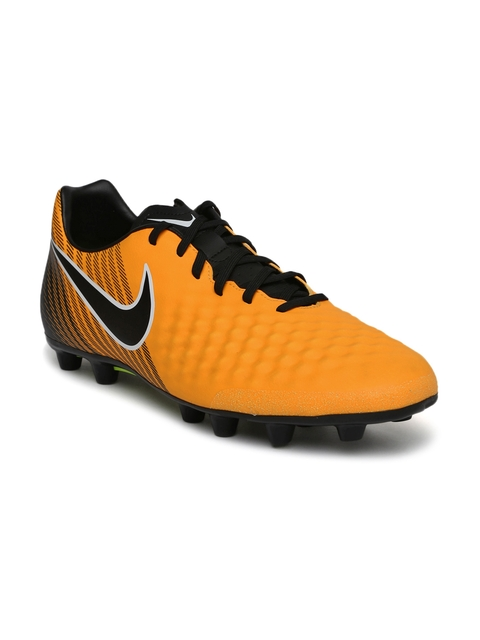 Nike Men Orange Magista Onda II HG-E Football Shoes