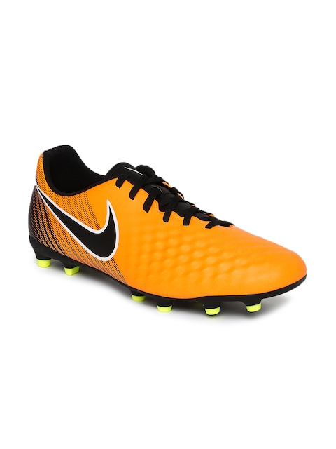 Nike Men Orange Magista OLA II FG Football Shoes  available at myntra for Rs.2697