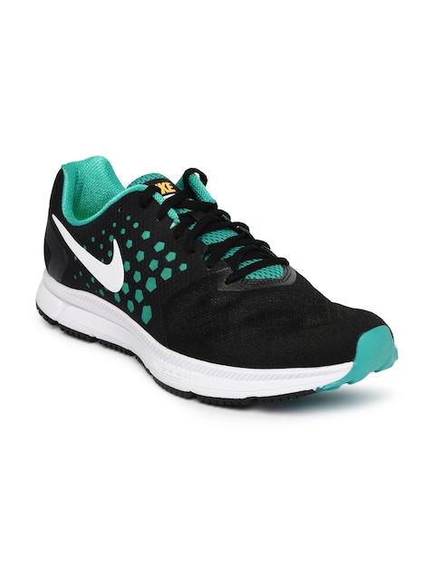 Nike Men Black ZOOM SPAN Running Shoes