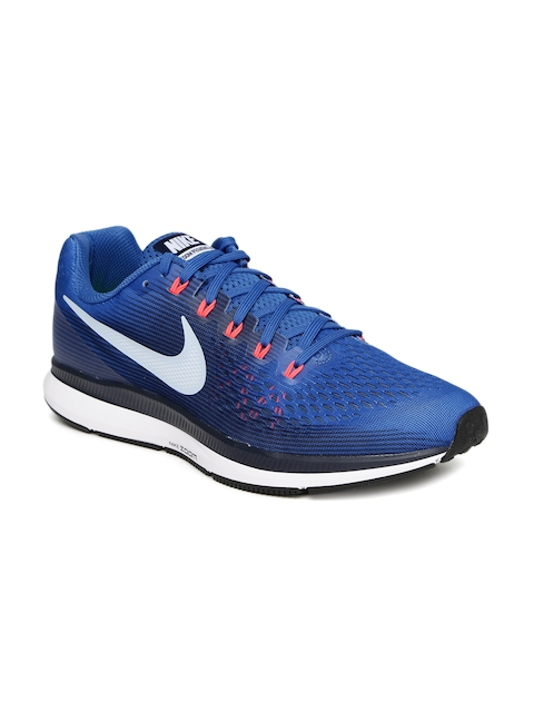Nike Men Blue AIR ZOOM PEGASUS 34 Running Shoes