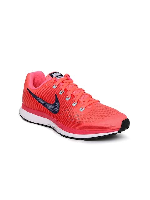 Nike Women Pink AIR ZOOM PEGASUS 34 Running Shoes