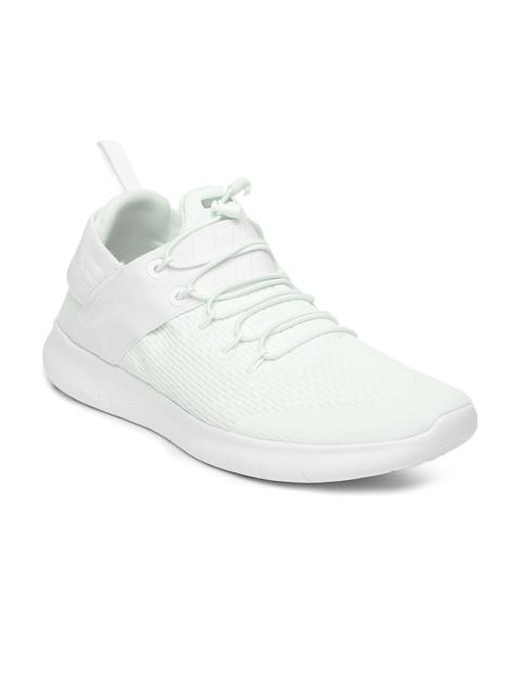 Nike Men White Free RN CMTR Running Shoes