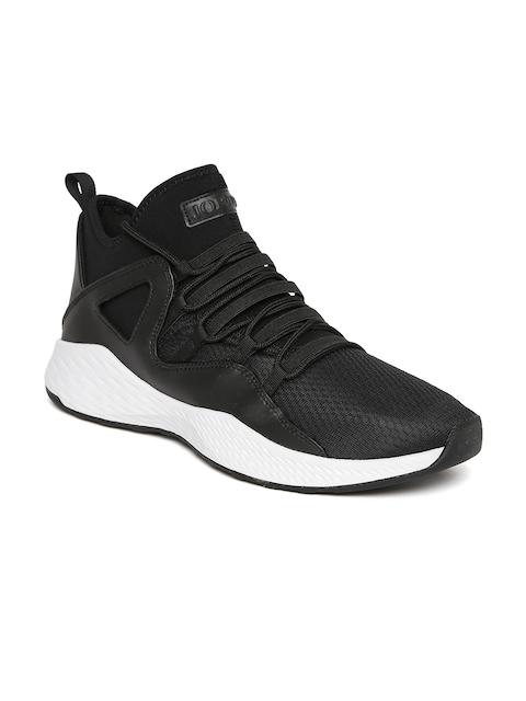 Nike Men Black Textile Mid-Top JORDAN FORMULA 23 Basketball Shoes