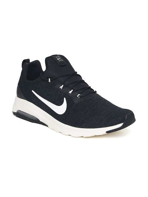 Nike Men Black AIR MAX MOTION RACER Sneakers  available at myntra for Rs.3598