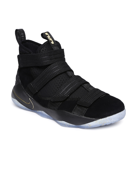 Nike Men Black LEBRON SOLDIER XI SFG Basketball Shoes