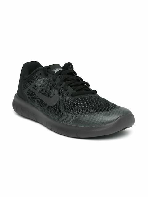 Nike Boys Black FREE RN 2017 (GS) Running Shoes  available at myntra for Rs.4156