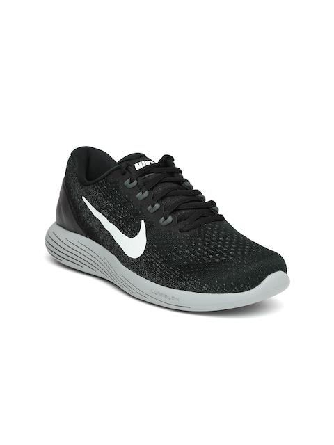 Nike Women Black LUNARGLIDE 9 Running Shoes