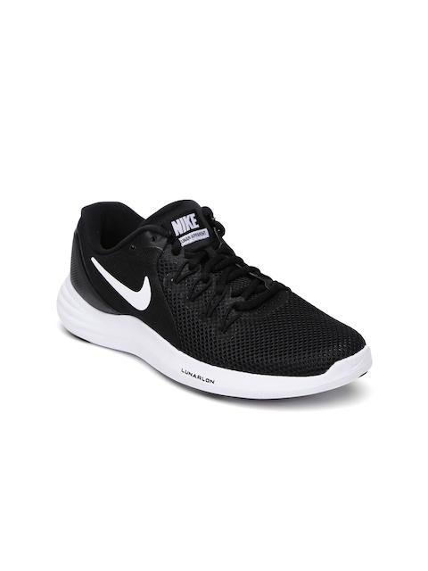 Nike Women Black Lunar Apparent Running Shoes