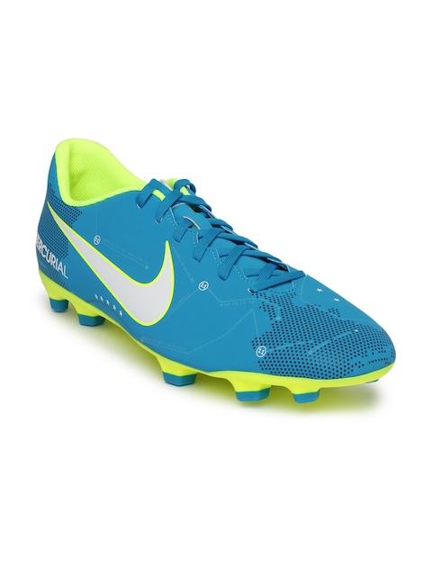 Nike Men Blue MERCURIAL VORTEX III Football Shoes