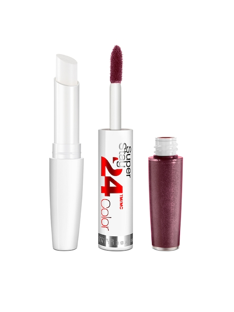 Maybelline Super Stay 24 H Color Lipstick Unlimited Raisin  050