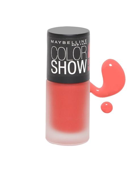 Maybelline Color Show Bright Mattes Blazing Orange Nail Paint M306