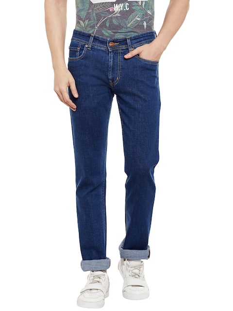 Numero Uno Men Blue Slim Fit Low-Rise Clean Look Jeans  available at myntra for Rs.1154
