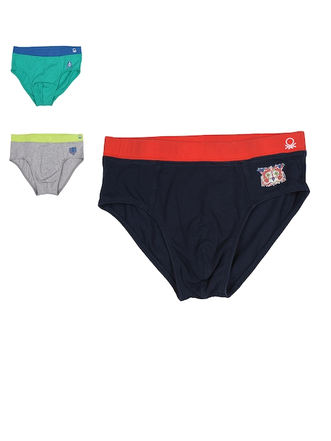 United Colors of Benetton Boys Pack of 3 Briefs KB05I-901
