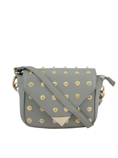 20Dresses Grey Embellished Sling Bag