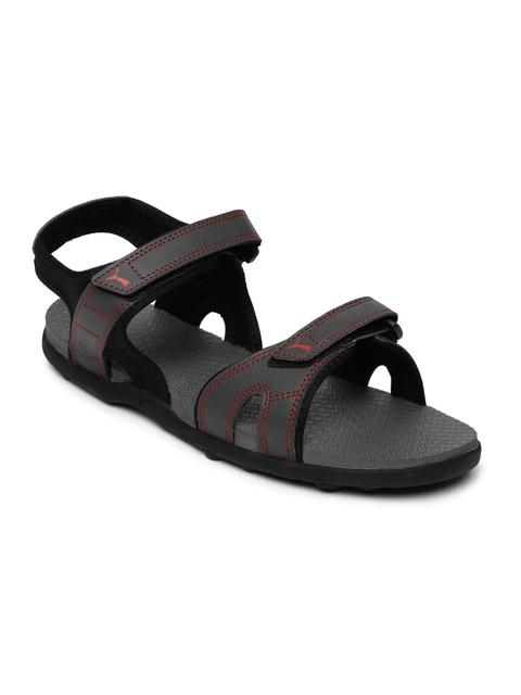 Puma Men Grey Starry DP Sports Sandals