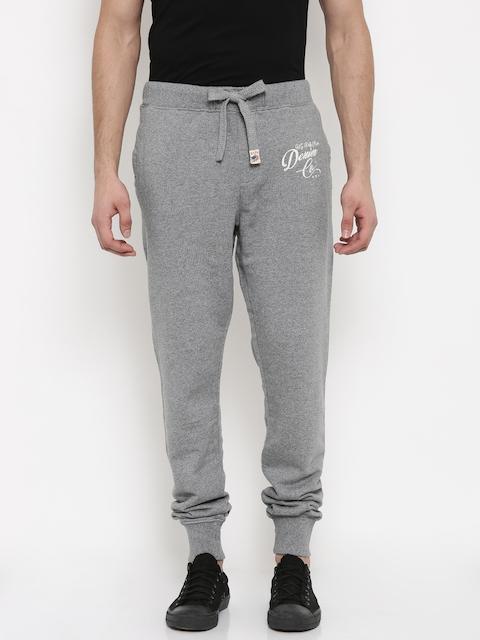 U.S. Polo Assn. Denim Co. Men Grey Jogger Track Pants