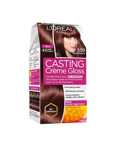 L'Oreal Paris Casting Creme Gloss Hair Color - Mahogany 550