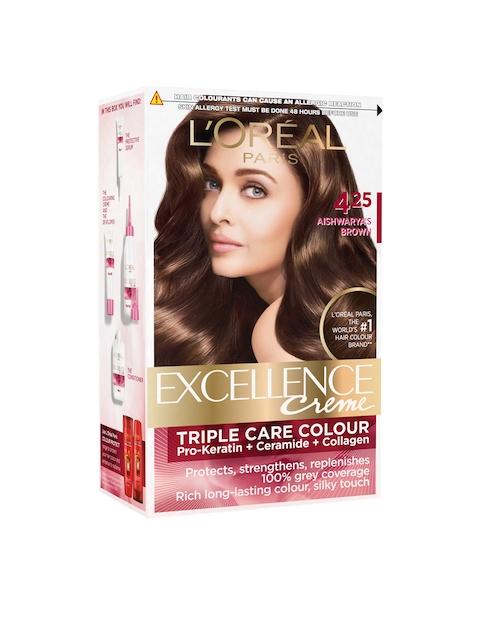 LOreal Paris Aishwaryas Brown 425 Excellence Creme Hair Colour 72 ml + 100 g