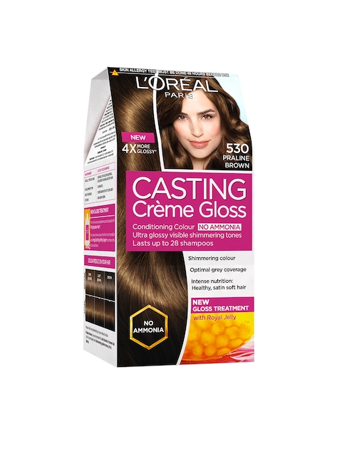 Loreal Paris Casting Creme Gloss Hair Color - 530 Praline Brown