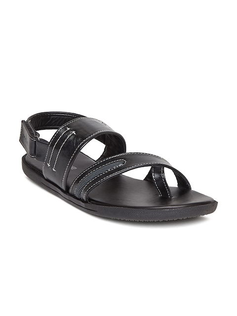Duke Men Black Sandals