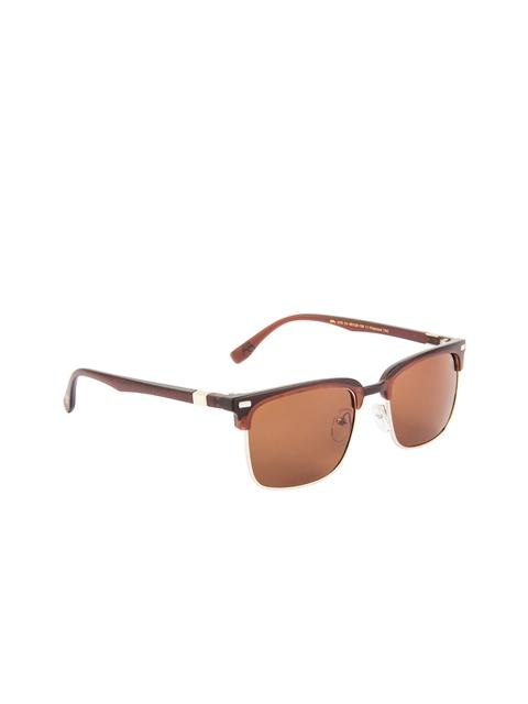 Farenheit Unisex Browline Sunglasses SOC-FA-1078-C4