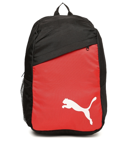 PUMA Unisex Black & Red Pro Training Backpack