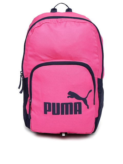 PUMA Unisex Pink Phase Backpack  available at myntra for Rs.604