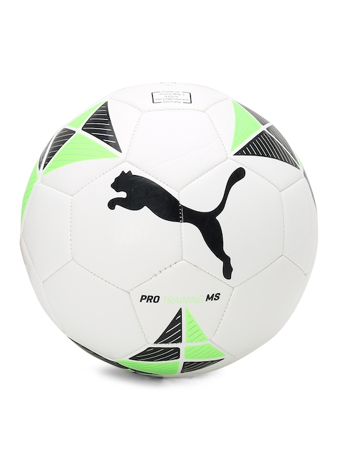Puma Unisex White Printed Pro Training MS Ball