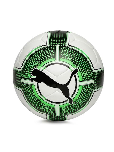 PUMA Unisex White & Black Evopower 5.3 Trainer HS Printed Soccer Ball
