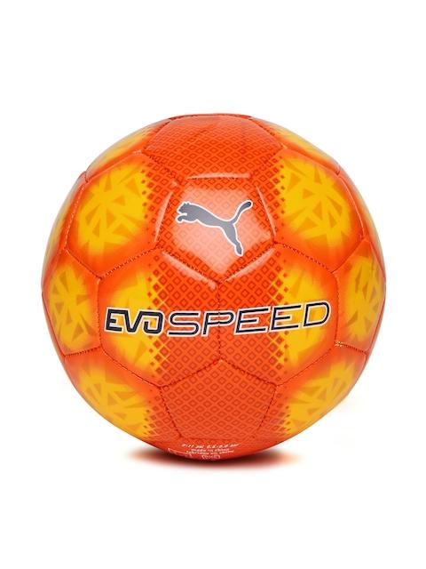 PUMA Yellow & Orange evoSPEED 5.5 Fade Football
