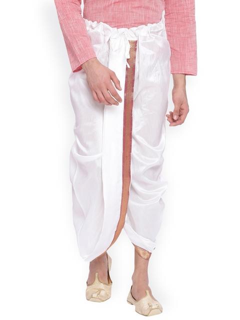 Svanik Off-White Dhoti Pants