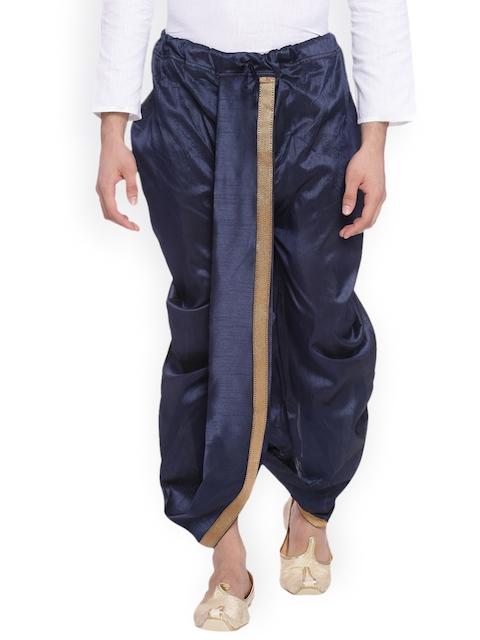Svanik Navy Dhoti Pants