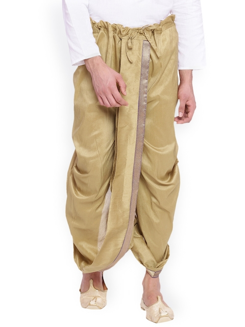 Svanik Gold-Toned Dhoti Pants
