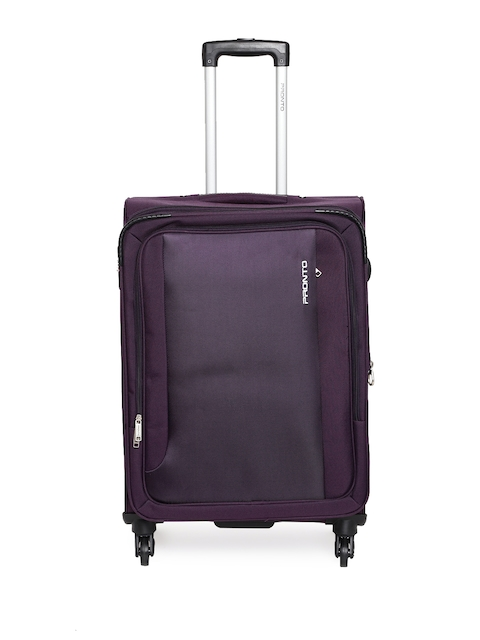 Pronto Unisex Purple SPACE + 4 W Spinner 67 Medium Trolley Bag