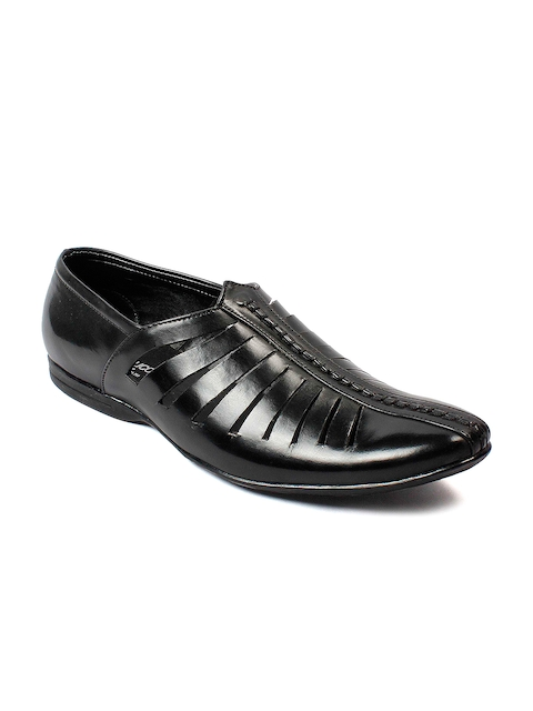 bacca bucci Men Black Slip-On Casual Shoes