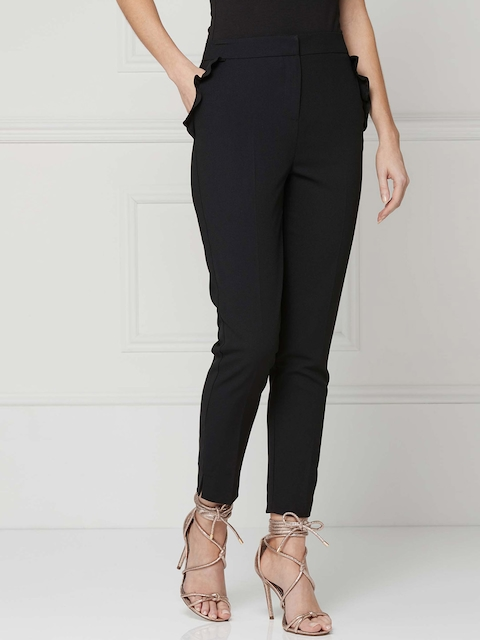 next Women Black Trousers