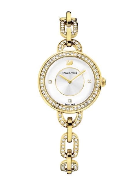 SWAROVSKI Women Aila Gold-Tone Bracelet Watch
