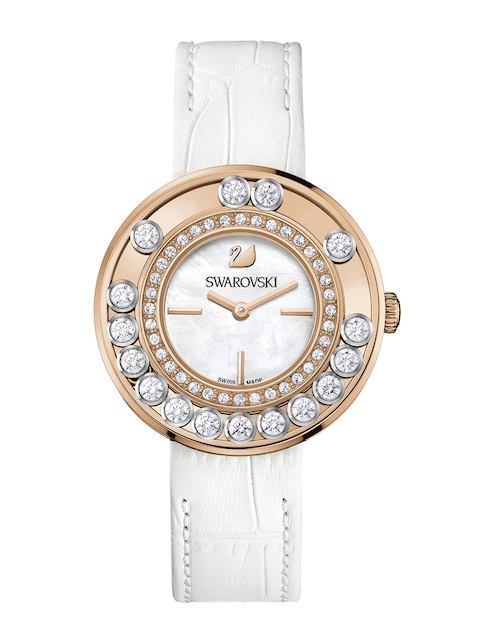 SWAROVSKI Women Lovely Crystals White Watch